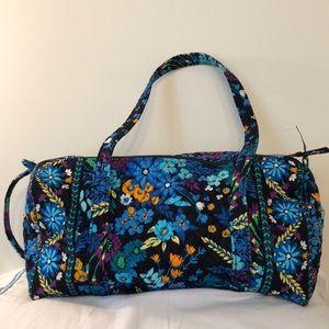 Vera Bradley midnight blue tote bag.  18 x 10 x 10
